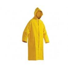 Ochranný plášť s kapucňou CETUS žltý