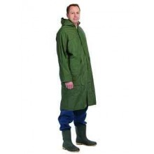 Ochranný plášť s kapucňou CETUS zelený