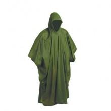 Ochranné PONČO PVC zelené