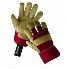 Pracovné rukavice ROSE FINCH červené