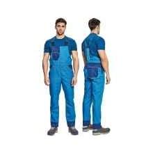 MONTROSE nohavice s náprsenkou royal/navy