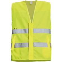 Reflexná vesta LYNX PROFI žltá