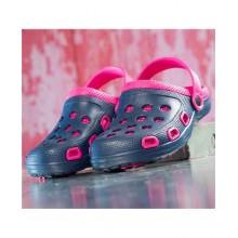 Kroksy MARINE navy-pink