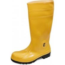 Vysoké bezpečnostné čižmy EUROFORT S5 žlté