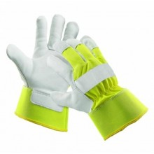 "Pracovné rukavice CURLEW WINTER žlté ""HI VIS"""