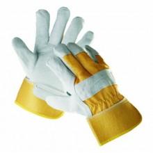 Pracovné rukavice EIDER žlto-sivé