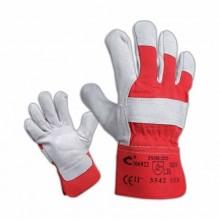 Pracovné rukavice EIDER červeno-sivé