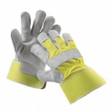"""Pracovné rukavice CURLEW žlté """"HI VIS"""""""