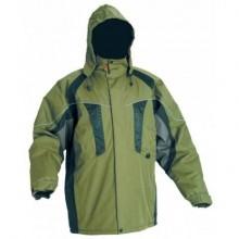 Zateplená nepremokavá bunda NYALA zelená