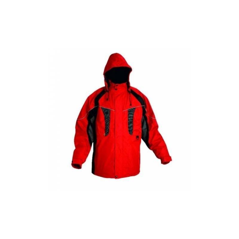 Zateplená nepremokavá bunda NYALA červená cf53cc2f436