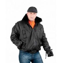 Zateplená nepremokavá bunda PILOT 3v1 čierna