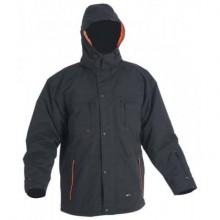 Zimná bunda EMERTON čierno-oražová