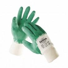 Pracovné rukavice polomáčané v latexe COOT