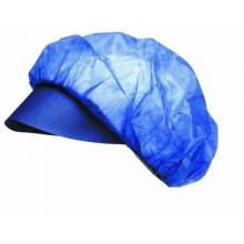 Jednorázová ochranná čiapka VAPI PEAK modrá