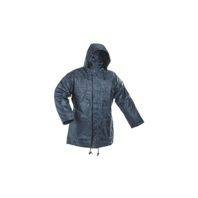 Zateplená nepremokavá bunda ATLAS modrá 920b1ff99a4