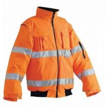 Zimná bunda CLOVELLY PILOT Hi-vis, oranžová