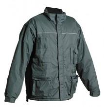 Nepremokavá bunda LIBRA 2v1 sivá
