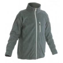 Fleecová bunda KARELA sivá