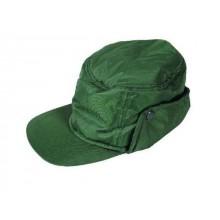 Zateplená nepremokavá čiapka NORTH zelená