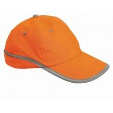 Reflexná šiltovka TAHR oranžová