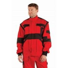Pánska bundokošeľa MAX 2v1 červeno-čierna
