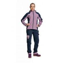 YOWIE dámske nohavic navy/sv. fialová