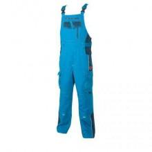 Nohavice s náprsenkou VISION modré