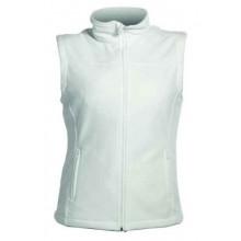 Dámska fleecová vesta VORMA LADY biela