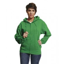 Mikina NAGAR s kapucňou zelená