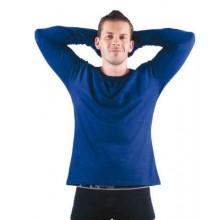 Tričko - dlhý rukáv CAMBON royal modré