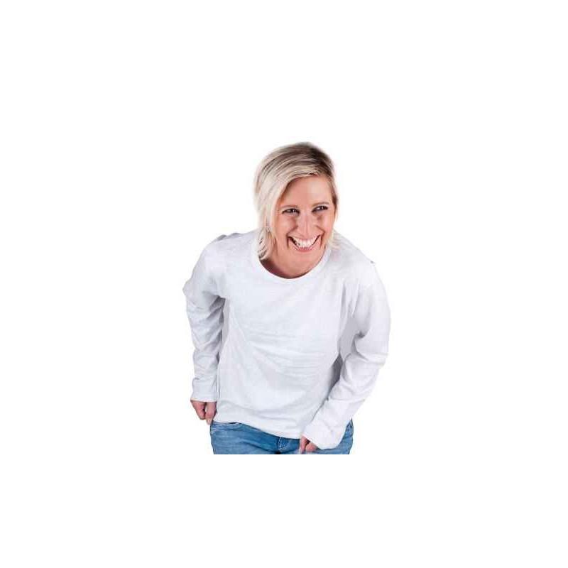 3ff847171f84 Tričko s dlhým rukávom CAMBON svetlosivé