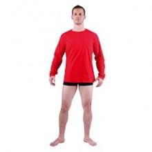 Tričko s dlhým rukávom CAMBON červené
